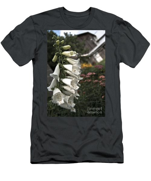 Ivory Foxglove Men's T-Shirt (Athletic Fit)