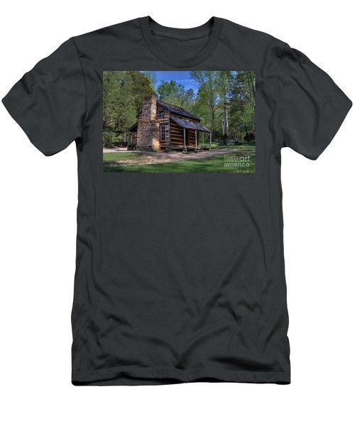 John Oliver Cabin Men's T-Shirt (Athletic Fit)