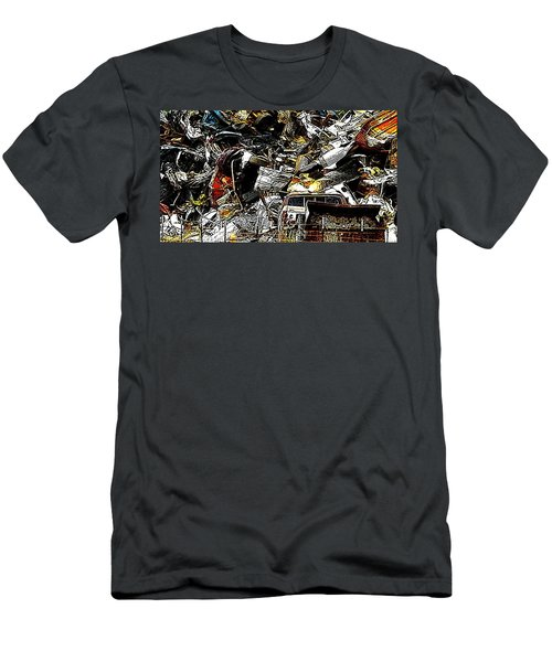 Men's T-Shirt (Slim Fit) featuring the photograph Junky Treasure 2 by Lydia Holly