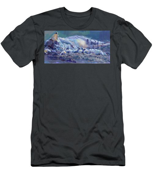 Kittyscape Men's T-Shirt (Athletic Fit)