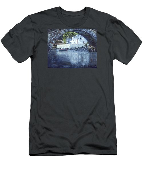 Lackagh Bridge Men's T-Shirt (Athletic Fit)