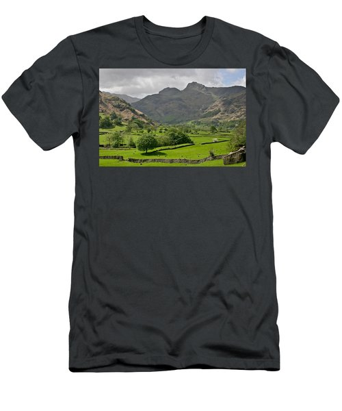 Lake District England Men's T-Shirt (Athletic Fit)
