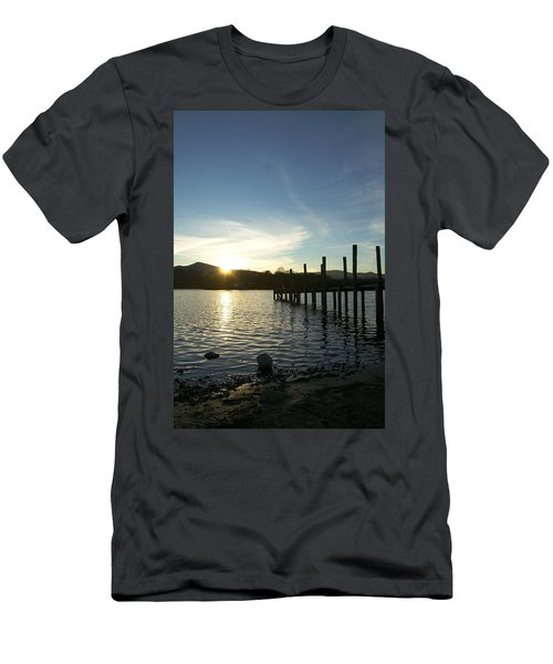 Lake District Sunset Men's T-Shirt (Athletic Fit)