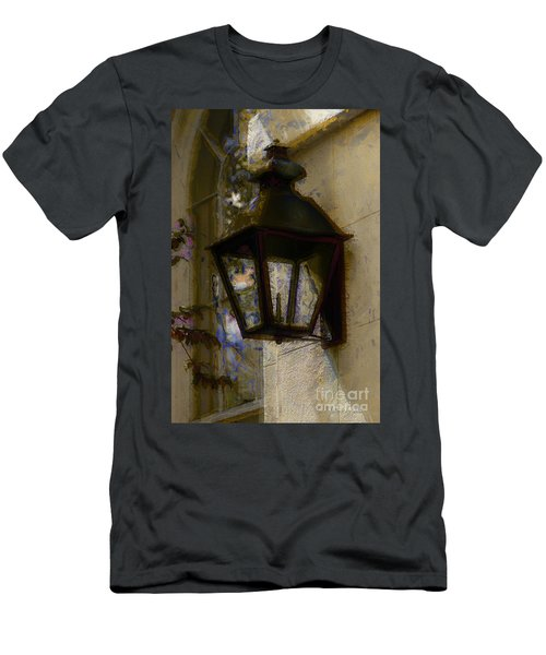 Men's T-Shirt (Athletic Fit) featuring the photograph Lantern 11 by Donna Bentley