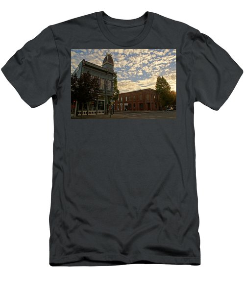 Late Afternoon At The Corner Of 5th And G Men's T-Shirt (Athletic Fit)
