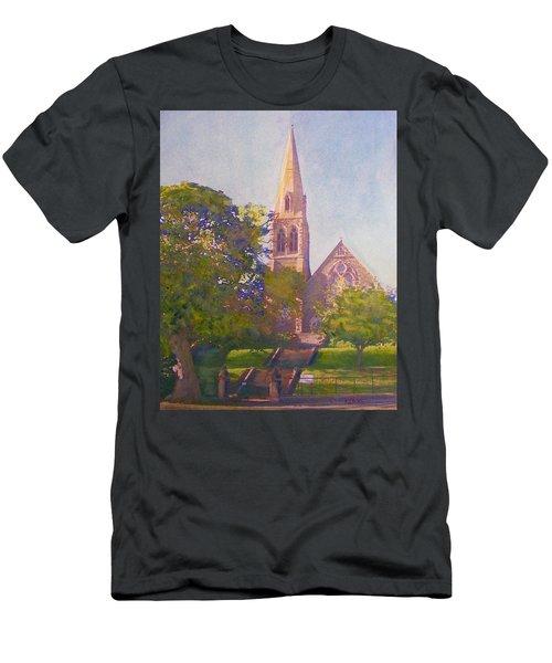 Leckie Memorial  Church  Peebles Scotland Men's T-Shirt (Athletic Fit)