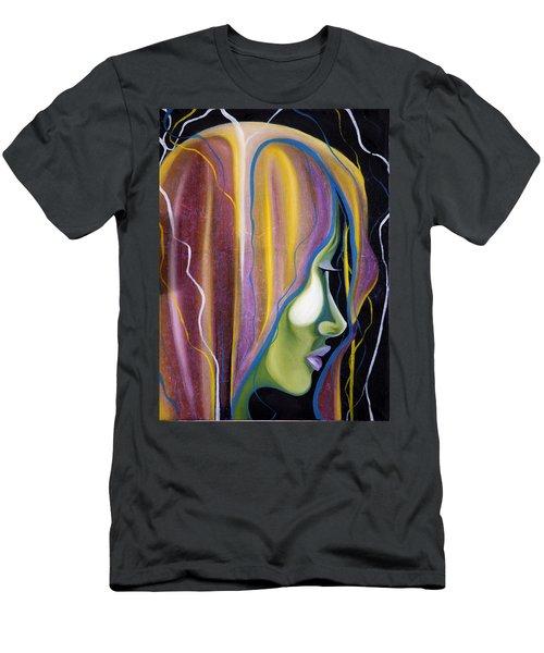 Lights II Men's T-Shirt (Slim Fit) by Sheridan Furrer