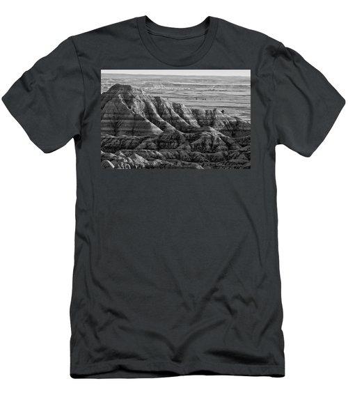 Line Them Up Men's T-Shirt (Slim Fit) by Wilma  Birdwell