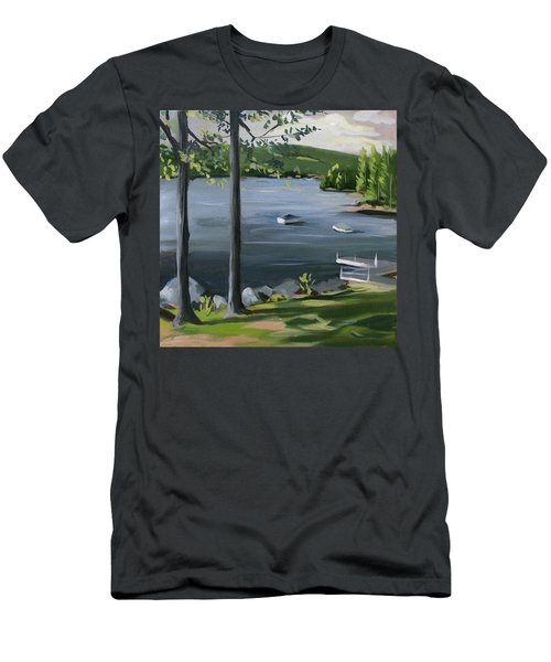 Little Squam In June Men's T-Shirt (Athletic Fit)