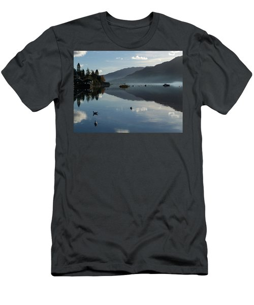 Men's T-Shirt (Slim Fit) featuring the photograph Lochgoilhead by Lynn Bolt
