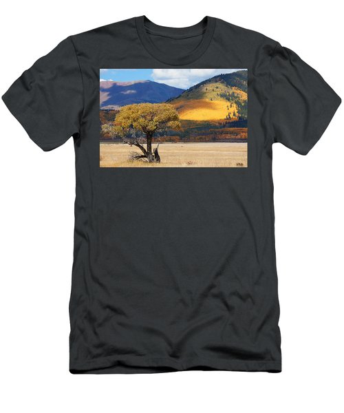 Men's T-Shirt (Slim Fit) featuring the photograph Lone Tree by Jim Garrison