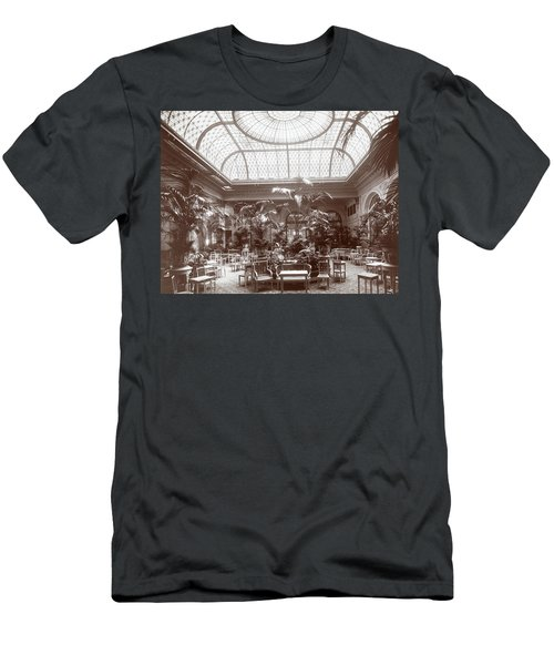 Lounge At The Plaza Hotel Men's T-Shirt (Athletic Fit)