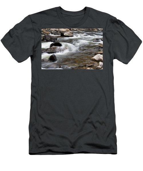 Loyalsock Creek Gentle Rapids Men's T-Shirt (Athletic Fit)