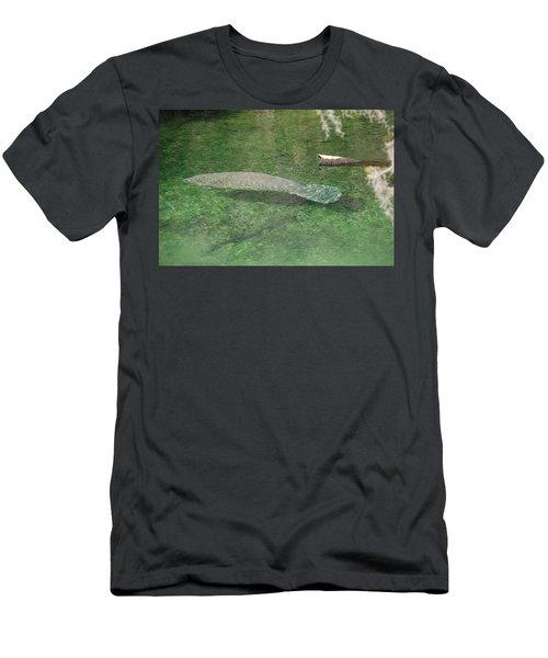 Manatee Men's T-Shirt (Athletic Fit)