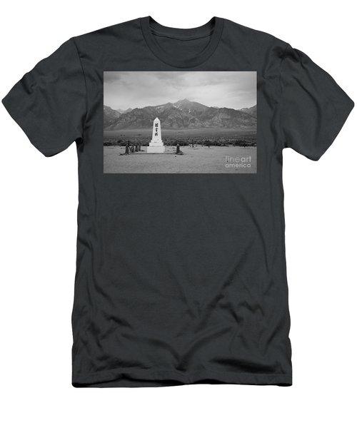 Manzanar Memorial Men's T-Shirt (Athletic Fit)