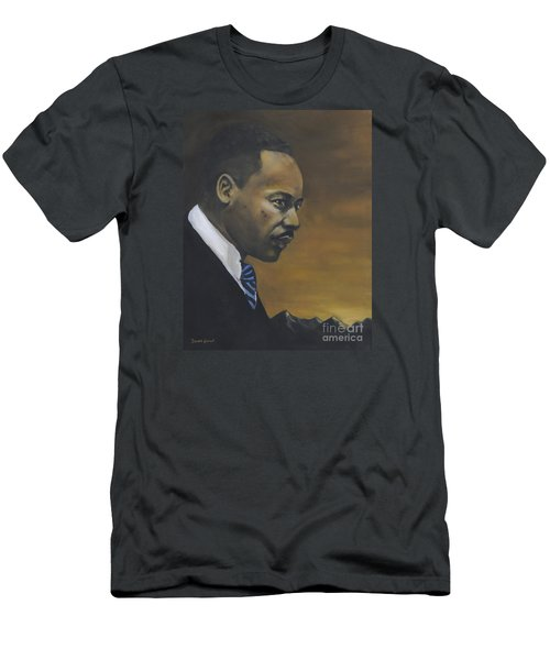 Martin Luther King Jr - From The Mountaintop Men's T-Shirt (Athletic Fit)