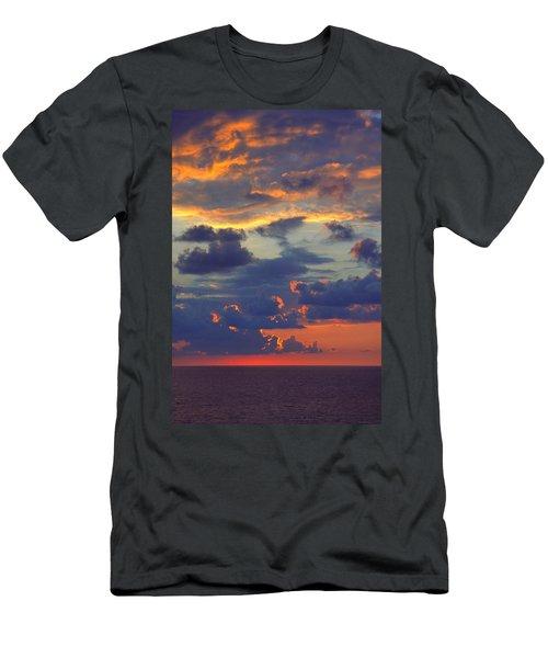 Mediterranean Sky Men's T-Shirt (Athletic Fit)