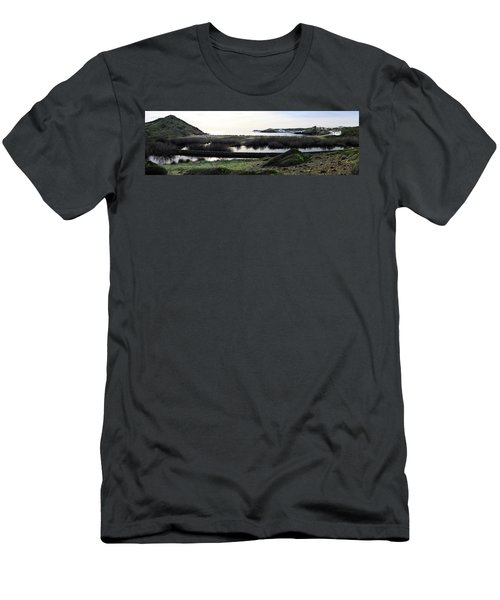 Men's T-Shirt (Slim Fit) featuring the photograph Mediterranean View by Pedro Cardona
