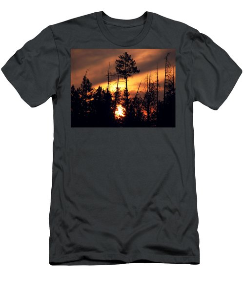 Melting Skies Men's T-Shirt (Athletic Fit)