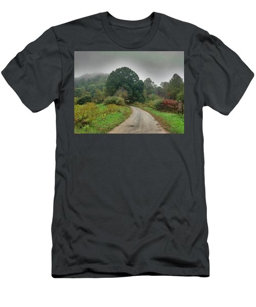 Men's T-Shirt (Slim Fit) featuring the photograph Mills Ridge by Janice Spivey