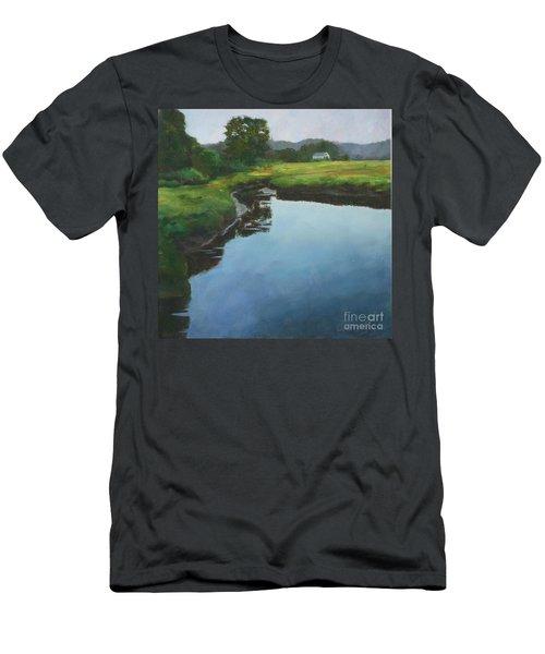 Mirror Creek In Essex Men's T-Shirt (Athletic Fit)