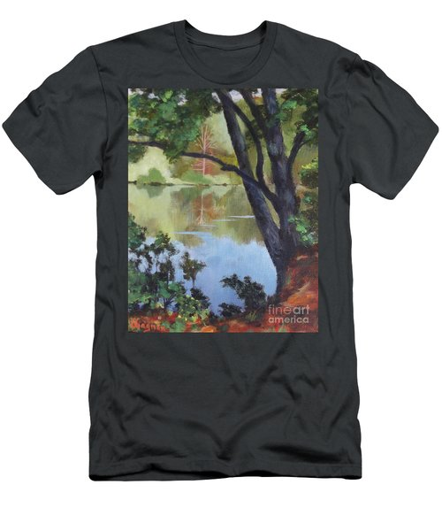Mirror Reflection Men's T-Shirt (Athletic Fit)