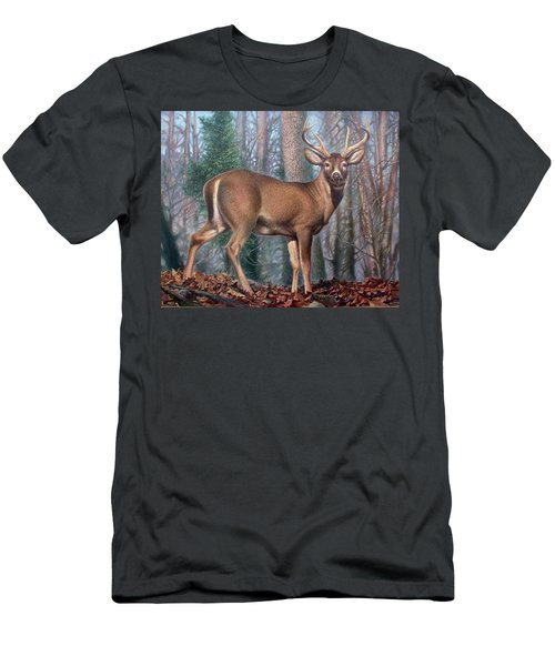 Missouri Whitetail Deer Men's T-Shirt (Athletic Fit)