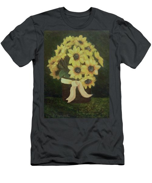 Mom's Bouquet Men's T-Shirt (Slim Fit) by Christy Saunders Church