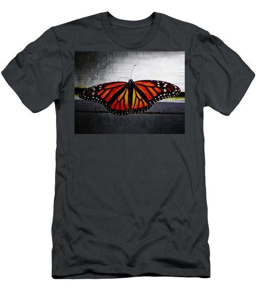 Monarch Men's T-Shirt (Slim Fit) by Julia Wilcox