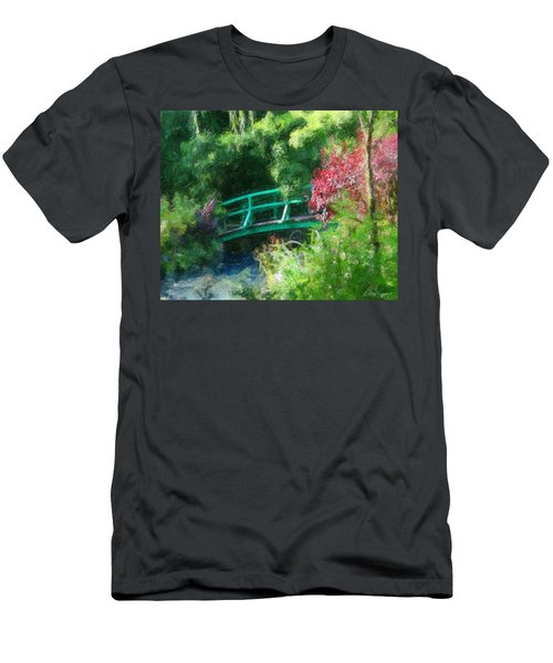Monet's Garden Men's T-Shirt (Athletic Fit)