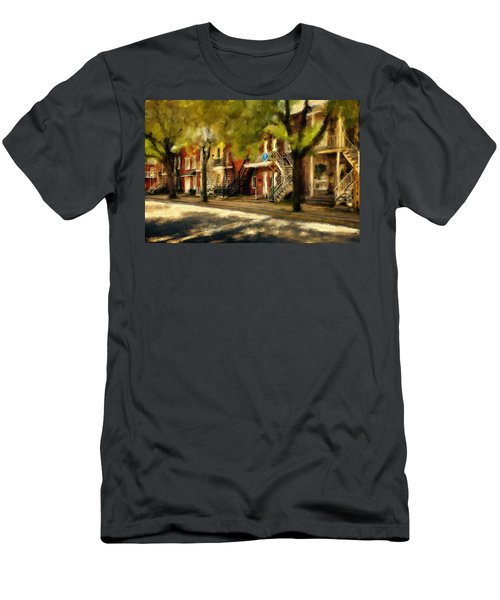 Montreal Street Men's T-Shirt (Athletic Fit)