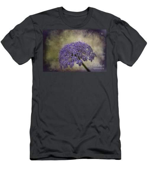 Men's T-Shirt (Slim Fit) featuring the photograph Moody Blue by Clare Bambers