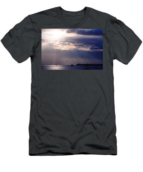 Moonlight Flight Men's T-Shirt (Athletic Fit)