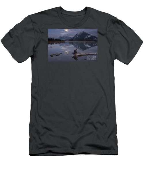Moonrise Over Banff Men's T-Shirt (Athletic Fit)