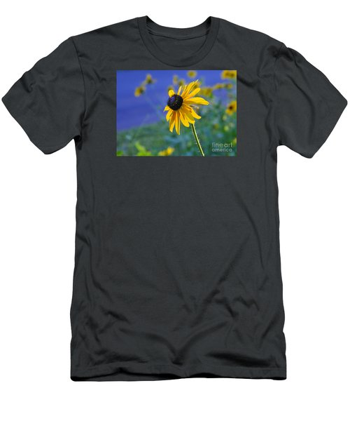 Men's T-Shirt (Slim Fit) featuring the photograph Morning Light by Nava Thompson