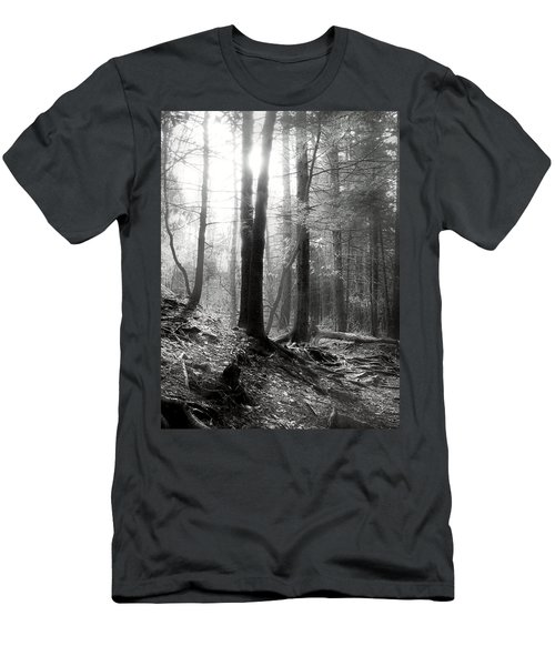 Men's T-Shirt (Slim Fit) featuring the photograph Morning Sun by Mary Almond