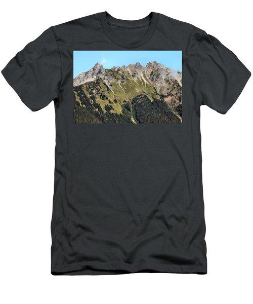 Mount Baker National Forest Men's T-Shirt (Athletic Fit)