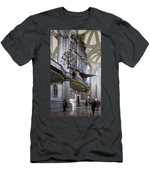 Men's T-Shirt (Slim Fit) featuring the photograph Music On High by Lynn Palmer