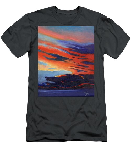 Natural Light Men's T-Shirt (Slim Fit) by Catherine Twomey