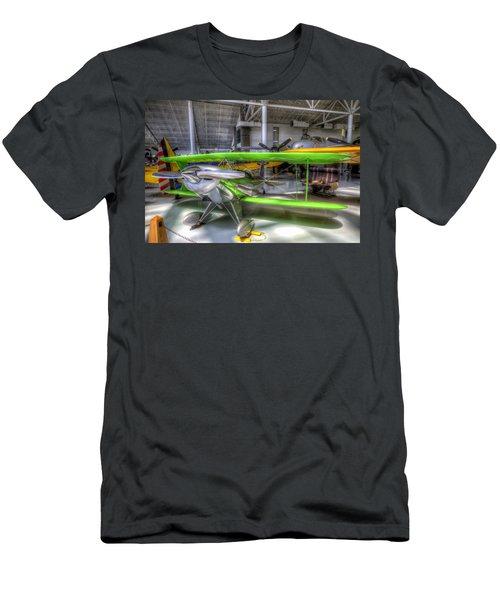 Neon Green Men's T-Shirt (Athletic Fit)