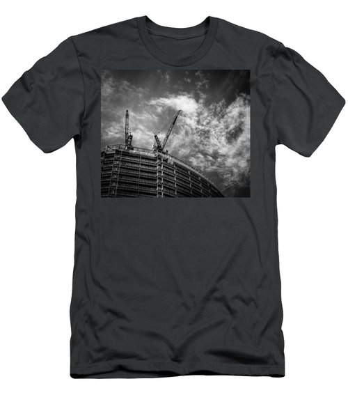 New Buildings Men's T-Shirt (Athletic Fit)
