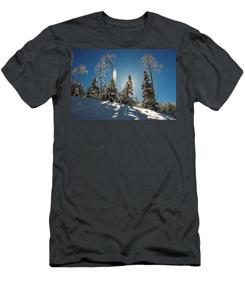 New Fallen Snow Men's T-Shirt (Athletic Fit)