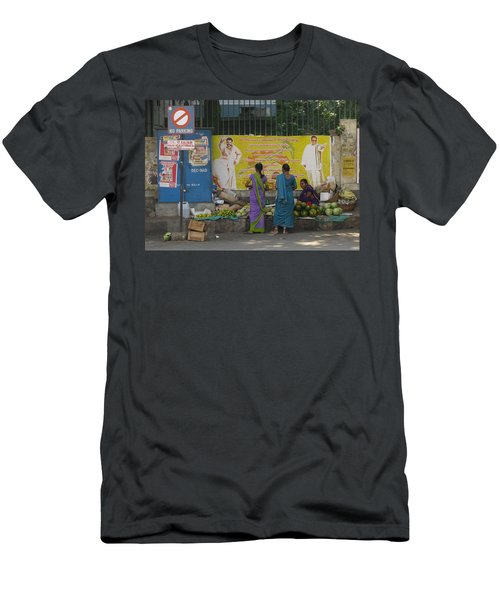 Men's T-Shirt (Slim Fit) featuring the photograph No Parking by David Pantuso
