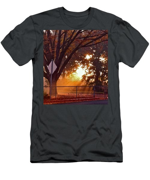 November Sunrise Men's T-Shirt (Slim Fit) by Bill Owen
