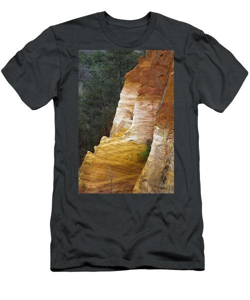 Ochre Quarry Of Roussillon, Provence Men's T-Shirt (Athletic Fit)