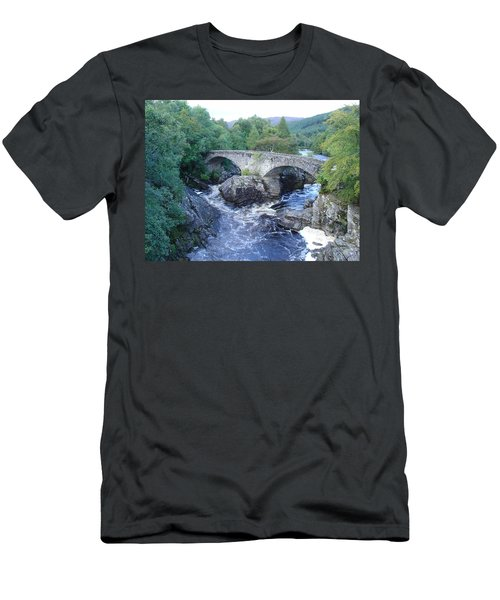 Old Bridge At Invermoriston Men's T-Shirt (Athletic Fit)
