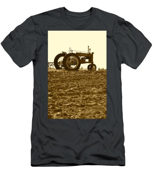 Old Tractor I In Sepia Men's T-Shirt (Athletic Fit)