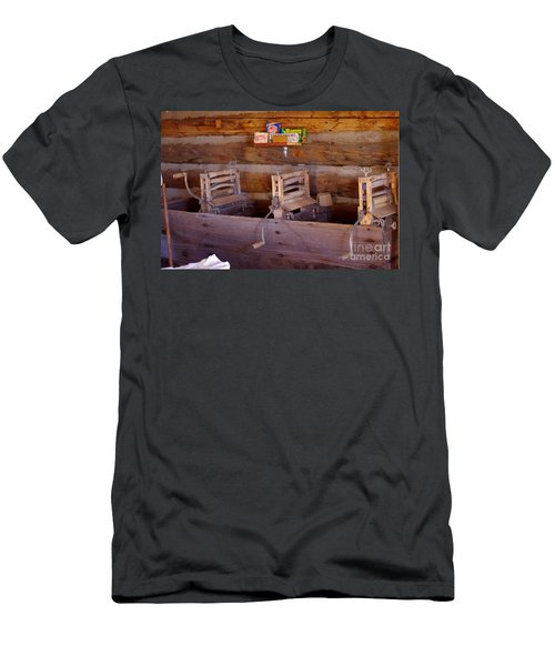 Men's T-Shirt (Slim Fit) featuring the photograph Old West 2 by Deniece Platt