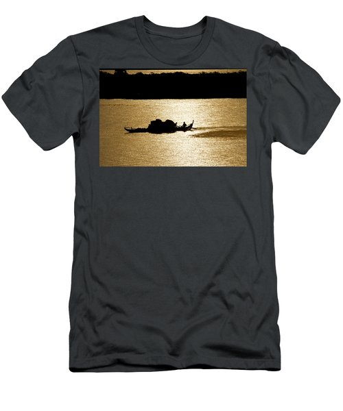 On Golden Waters Men's T-Shirt (Athletic Fit)