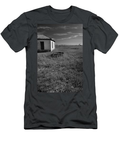 Men's T-Shirt (Athletic Fit) featuring the photograph On The Hi-lo Plains by Ron Cline